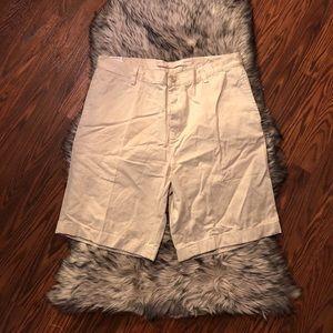 NAUTICA Clipper Men's Tan Relax Fit Shorts Sz 36W